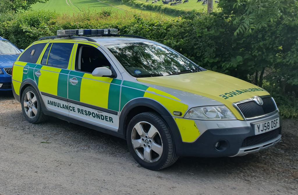 Skoda RRV Ambulance