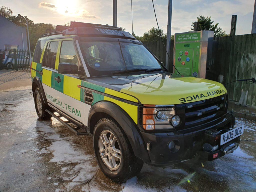 Discovery 3 4x4 Ambulance